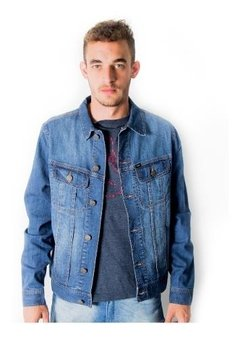 Campera Jean De Hombre Slim Lee Denim Strech