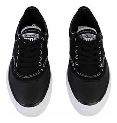 Zapatillas Converse Crimson Canvas Ox Negra Y Azul en internet