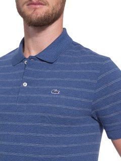 Chomba Pique Fancy Lacoste Slim Fit - comprar online