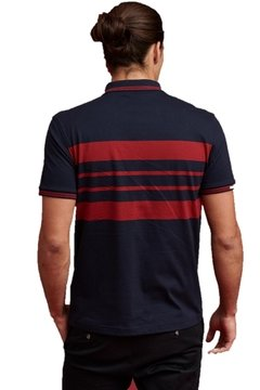 Chomba Polo Chest Stripes - comprar online