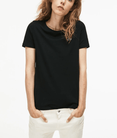 Remera Lacoste Basica Mujer Negra - comprar online