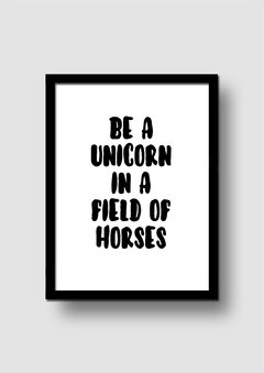 Cuadro Be a Unicorn en internet