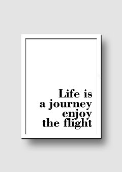 Cuadro Frase Quote Bold Flight - Memorabilia
