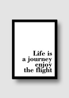 Cuadro Frase Quote Bold Flight en internet