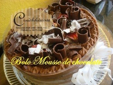 BOLO MOUSSE SABORES on internet