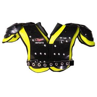 30a0896d6 Compre online produtos de Bruiser Sports - Shoulder pad para Futebol  Americano