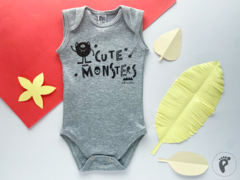 BODY MUSCULOSA CUTE MONSTERS - comprar online