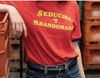 REMERA SEDUCIDA Y ABANDONADA ROJA C2MM en internet