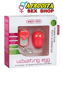 10 SPEED REMOTE VIBRATING EGG – SMALL – BLUE