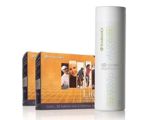 Paquete de ageLOC™ YOUTHSPAN® y LifePak