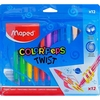 Crayones Maped Twist x12