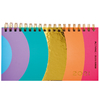 Agenda 2021 Mooving Pocket Espiralada Golden Rainbow Arcoiris Circulos