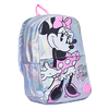 Mochila Minnie Mouse Plata Mooving 15l