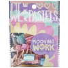 Binder Clips Mooving pastel  19 mm x12
