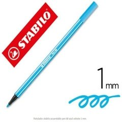 Marcadores Stabilo Pen 68 X6 Neon 1 Mm - Woopy - Woopy