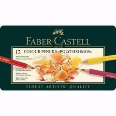 Lapices Polychromos En Lata X 12 Faber Castell - Woopy - comprar online