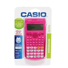 Calculadora Casio rosa fx82LA PLUS