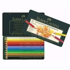 Lapices Polychromos En Lata X 12 Faber Castell - Woopy