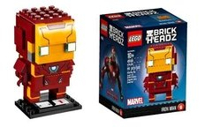 Lego Brick Headz 41590 Iron Man - Original - Woopy