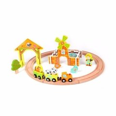 Classic World: Farm Train Set - Tren En La Granja - Woopy - buy online