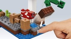 Lego Minecraft (21129) The Mushroom Island - Woopy en internet
