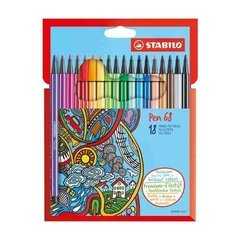 Marcadores Stabilo Pen 68 X18 1 Mm - Woopy