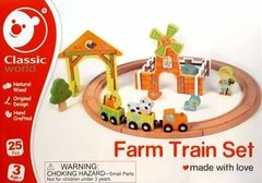 Classic World: Farm Train Set - Tren En La Granja - Woopy
