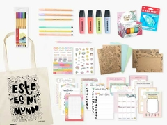 Kit Bullet Journal Miss Peperina Tote Bag
