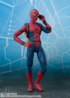 Imagen de Homecoming - Spider-Man - S.H.Figuarts - Tamashii Act Wall set (Bandai)
