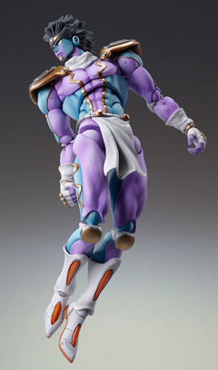 Super Action Statue - JoJo's Bizarre Adventure Part.IV #28 Star Platinum (Hirohiko Araki Specified Color) en internet