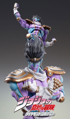 Super Action Statue - JoJo's Bizarre Adventure Part.IV #28 Star Platinum (Hirohiko Araki Specified Color) - Wonder Collection Store