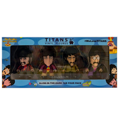 Beatles TITANS: 3 Four Pack Standard Costumes Glow in the Dark [New Toys] Vinyl - comprar online
