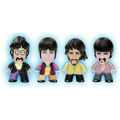 Beatles TITANS: 3 Four Pack Standard Costumes Glow in the Dark [New Toys] Vinyl