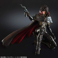 Space Pirate Captain Harlock Play Arts Kai - Harlock en internet