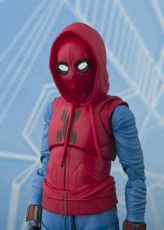 Imagen de Spider-Man: Homecoming S.H.Figuarts Spider-Man (Homemade Suit Ver.) & Tamashii Option Act Wall
