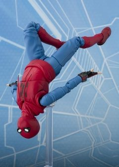 Spider-Man: Homecoming S.H.Figuarts Spider-Man (Homemade Suit Ver.) & Tamashii Option Act Wall