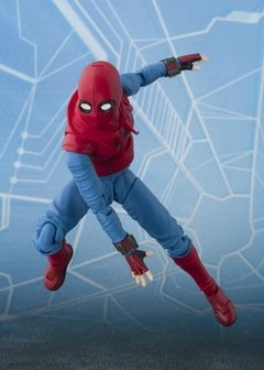 Spider-Man: Homecoming S.H.Figuarts Spider-Man (Homemade Suit Ver.) & Tamashii Option Act Wall - Wonder Collection Store