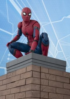Homecoming - Spider-Man - S.H.Figuarts - Tamashii Act Wall set (Bandai) - comprar online