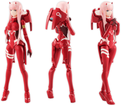 Darling in the FranXX - Zero Two - S.H.Figuarts (Bandai) - comprar online