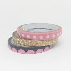 Trio - Washi Tapes fininhas