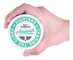 Cera Pomada Fighters Barbero Matte Ambush Barba En Cuotas!