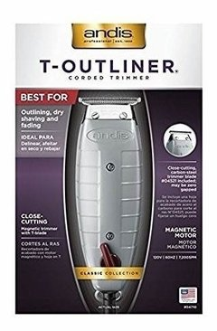 Maquina Patillera Andis T-outliner Corded Trimmer 220v - Barber Full S.A.