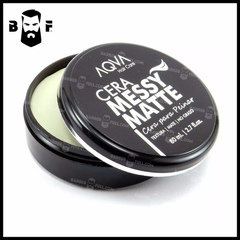 Cera Cabello Barba Aqua Mate Messy Efecto Mate 80ml