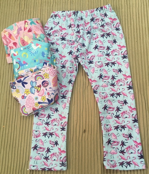 LEGGINGS ESTAMPADOS BEBA