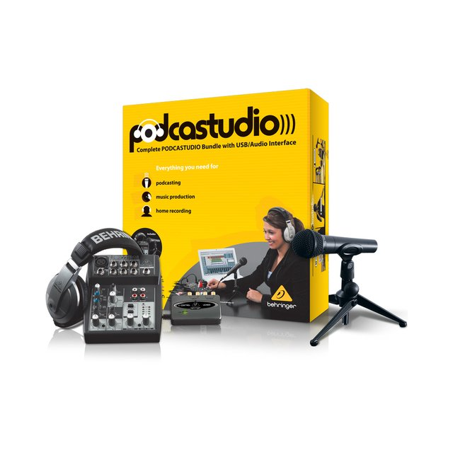 Kit de Estúdio Behringer PODCASTUDIO USB - comprar online