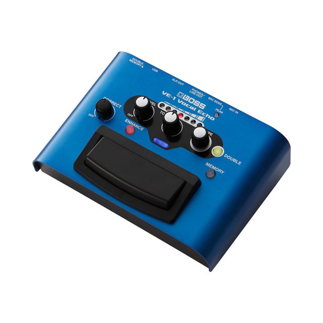 Pedal Boss VE-1 Vocal Eco na internet