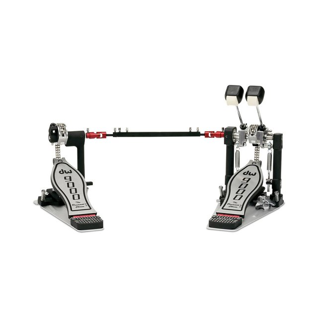 Imagem do Pedal Duplo DW 9000 DWCP9002PC Double Chain Infinite Adjustable Cam com Semi Case