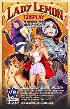 Lady Lemon Juego Cartas Comics Anime Series Tv Cosplay Retro