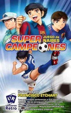 Cartas Super Campeones Captain Tsubasa Tope Quartet Retro