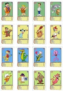 Juego Cartas Hanna Barbera Tope Scooby Tom Jerry Retro en internet